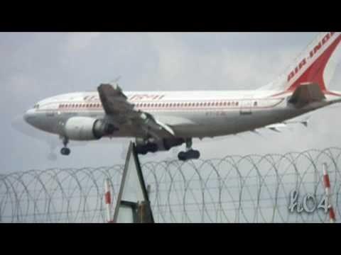 Air India Airbus A310 - Final Approach to Chennai (MAA)