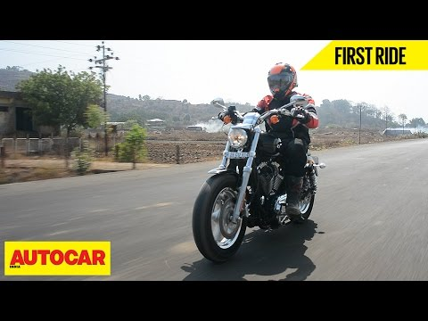 Harley Davidson 1200 Custom | First Ride | Autocar India