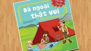 Đồ chơi sách dán hình búp bê - Tập 1 Dã ngoại thật vui - Vui dán decan Sticker dolly (Chim Xinh)