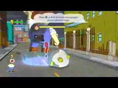 The Simpsons Game Demo (PS3)