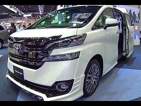 Toyota Vellfire 2015, 2016 Video review New Generation