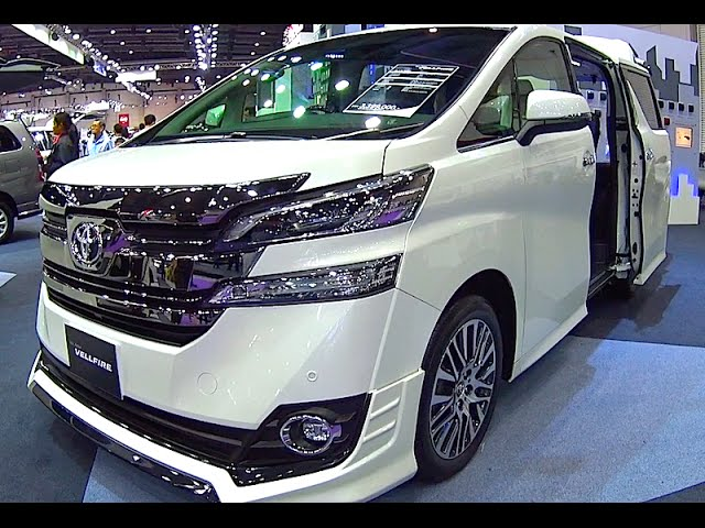 Toyota Vellfire 2017, 2016 Video review New Generation ...