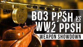 BO3 PPSH vs WW2 PPSH - The Weapon Showdown