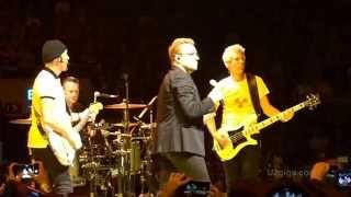 Watch U2 Spanish Eyes video