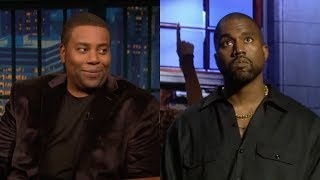 Kenan Thompson tells Seth Meyers about skipping out on Kanye SNL.