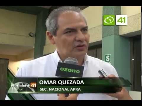 Omar Quezada afirma que APP tiene un jefe sin cerebro - Trujillo