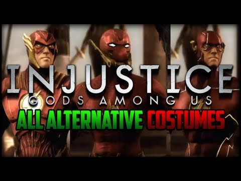 Injustice Gods Among Us - All Alternative Costumes/Skins