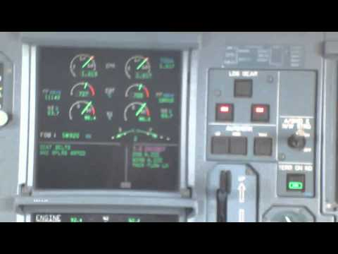 """Airbus A333 Winter Takeoff in """"Toga"""" Mode"""