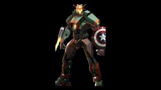 Captain America of Jaegers- Pacific Rim: Breach Wars