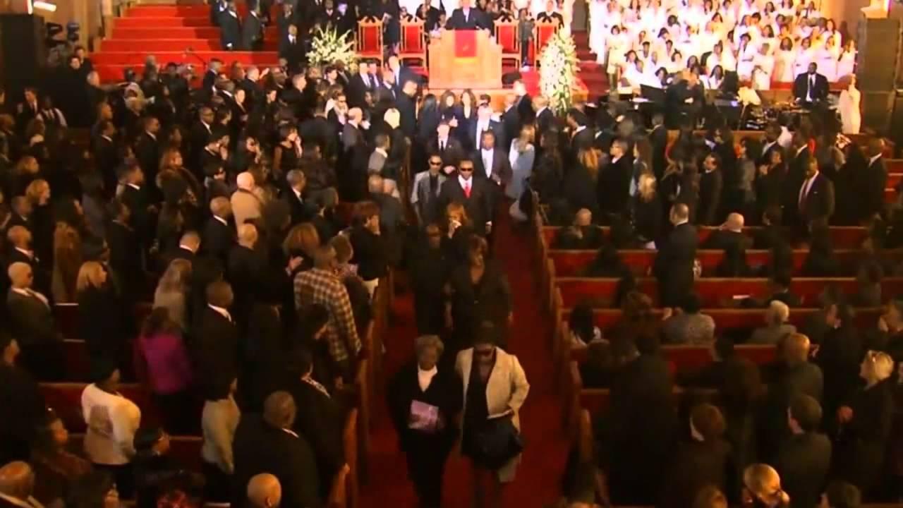 Whitney Houston Funeral End of Whitney Houston s