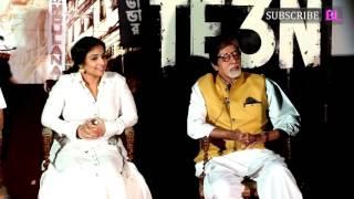 TE3N Movie Trailer Launch | Amitabh Bachchan | Vidya Balan | Full Video | Part 2