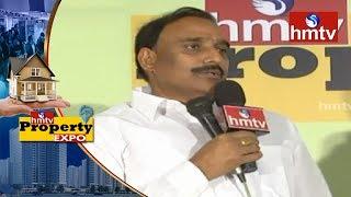MLA Arekapudi Gandhi Praises hmtv   Announces Lucky Draw Winners   hmtv Property Expo 2018 hmtv News