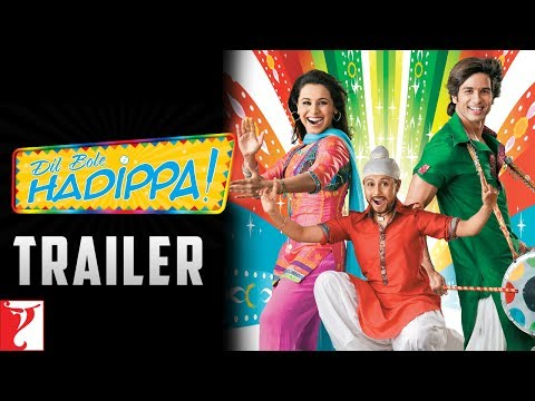 Dil Bole Hadippa | Official Trailer | Shahid Kapoor | Rani Mukerji