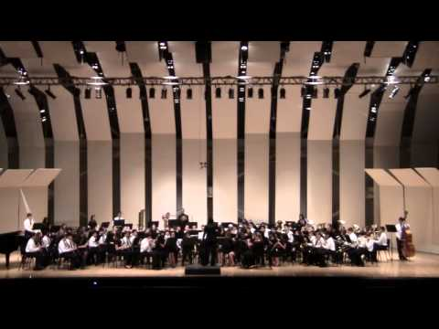 NASSAU SUFFOLK HONOR BAND CONCERT 2 01 13 CW POST TILLES CENTER ARABIAN DANCES  4 OF 4