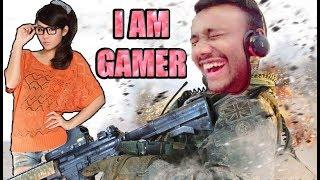 I AM GAMER !!