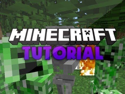วิธีโหลดเกม Minecraft 1.8.1-1.8.3