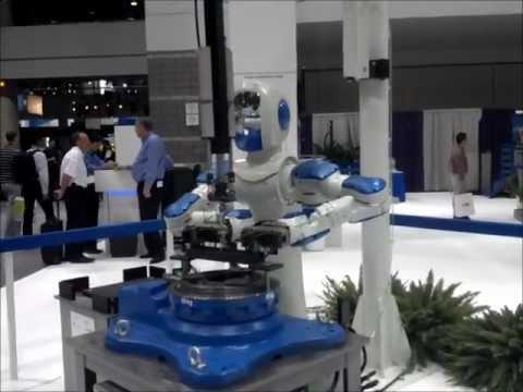 IMTS 2012 Robot Highlights