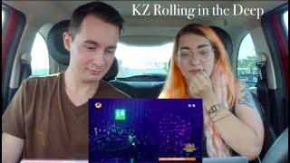 Download Lagu KZ - Rolling in The Deep - The singer | REACTION Gratis STAFABAND