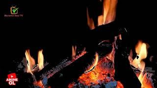şömine ateşi sesi rahatlatıcı bir  huzur ve uyku fireplace fire sound relaxing