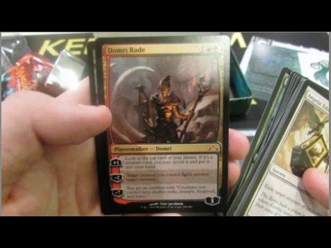 Gatecrash Pre-Release Guild Box Opening