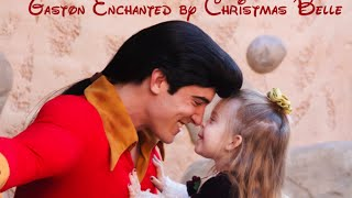 Gaston Enchanted by Lane as Christmas Belle