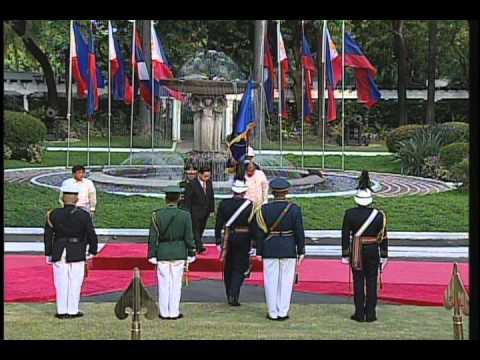 Arrival Honors of Lao Prime Minister - 5/10/2012