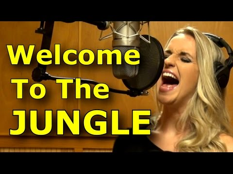 Gabriela Gunčíková - How To Sing Guns n' Roses - Axl Rose - Welcome To The Jungle cover- Ken Tamplin