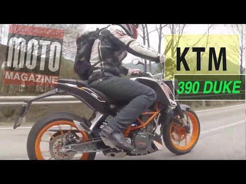 Essai KTM 390 Duke : la moto joueuse du permis A2 !