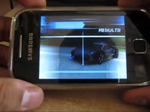 How to play Need for speed hot pursuit on galaxy y or any QVGA device (tutorial) free download!!