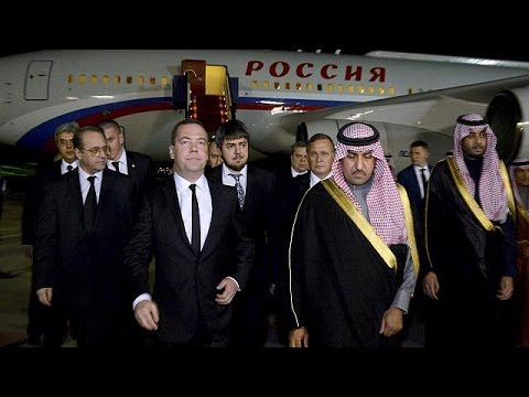 King Abdullah death: World leaders gather in Riyadh to offer condolences