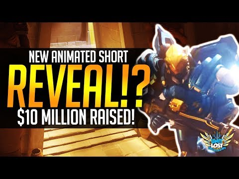 Overwatch - NEW Animated Short Reveal?! / Jeff in CoD? / 10 MILLION Raised!