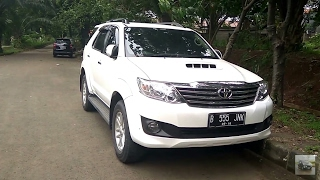 2013 Toyota Fortuner G A/T VNT Turbo Start Up & In Depth Review Indonesia
