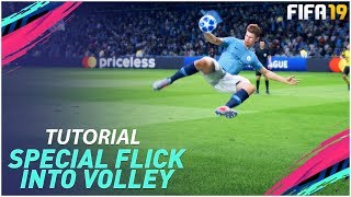 FIFA 19 NEW GLITCH - SPECIAL FLICK INTO VOLLEY (SCORE EVERYTIME) TUTORIAL - AMAZING NEW TECHNIQUE