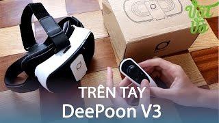 Vật Vờ| Trên tay DeePoon V3, có tay cầm và 1 số game VR hay