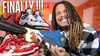 THEY COMING BACK !!! UPCOMING 2019 & 2020 SNEAKER RELEASES ! AJ 34 , YEEZY 500 STONE , WHAT THE 4s