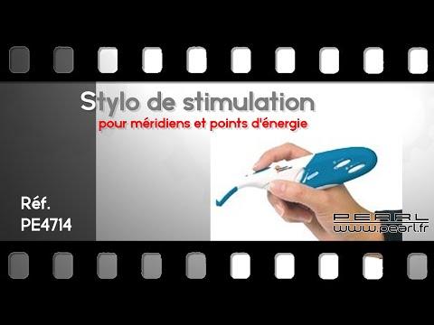 STYLO D'ACUPUNCTURE - Acupuncture sans aiguille ! - [PEARLTV.FR]