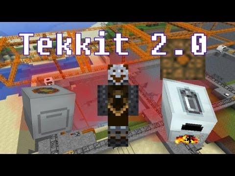 Minecraft Tekkit 2.0 101: The Basics of Tekkit for Beginners (Generator, Batbox, Macerator)