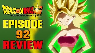 Dragon Ball Super Episode 92 REVIEW | THE BIG SLEEP...SADLY