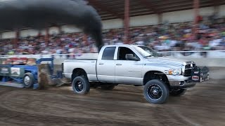 Truck Pull #5 - Tremonton Utah, July 2014 - United Pullers