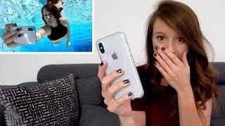 Did My iPhone X Survive WATER?   #AskJenna