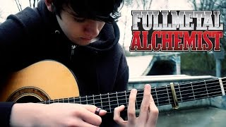 FullMetal Alchemist: Brotherhood OP1 - Again (Fingerstyle Guitar Cover by Eddie van der Meer)