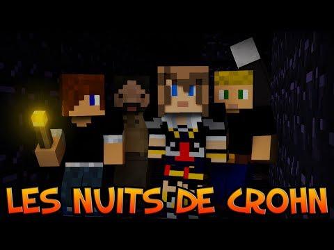 Minecraft : Rush, Bullseye Valley & Building Game   Live d'Ouverture - Les Nuits de Crohn [Condensé]