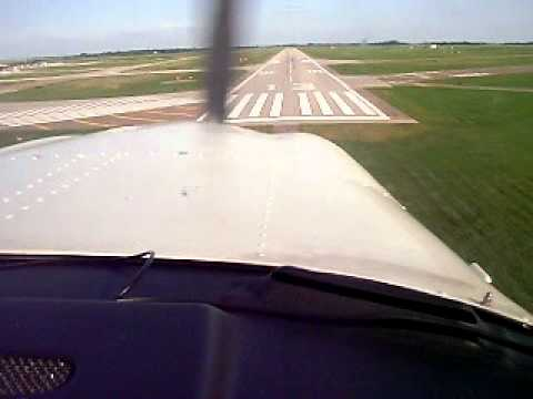 Landing at Aberdeen South Dakota