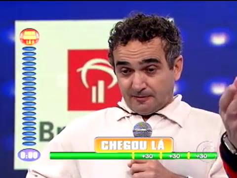 Quem Chega La: Joao Besouro Semifinal Domingao do Faustao 01/11/2009