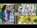 How I Make $6,000/Month From Home // Multiple Income Streams // Work From Home