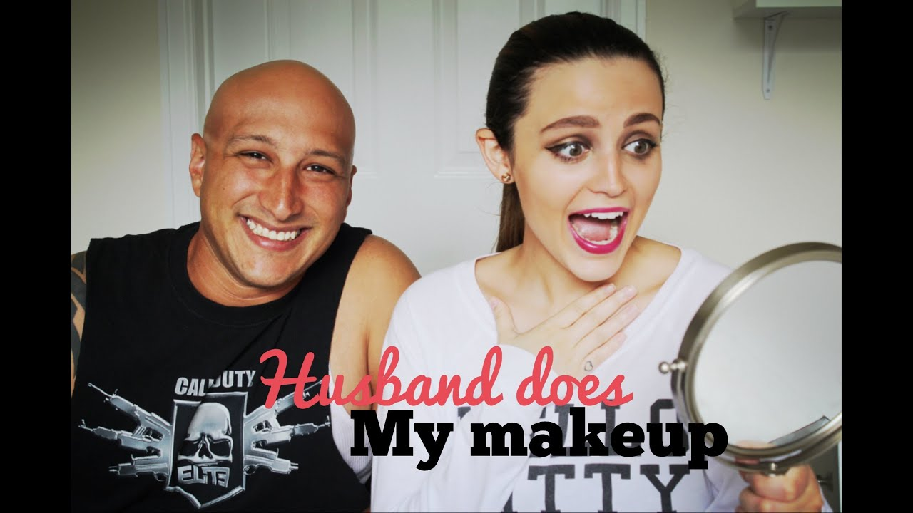 Husband Does My Makeup Tag! - YouTube