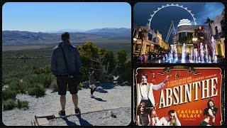 Las Vegas Vlog / Day 5 / Red Rock Canyon,High Roller & Absinthe