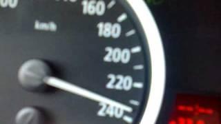 REZA YAREMZAHI DRIVING BMW AT 240 KMH