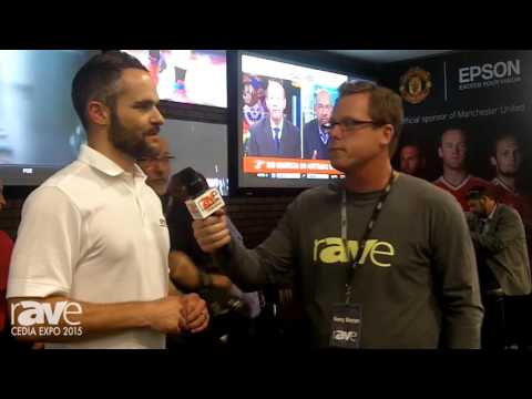 CEDIA 2015: Gary Kayye Chats With EPSON's Brian Savarese About Ultra Bright Pro Cinema Projectors