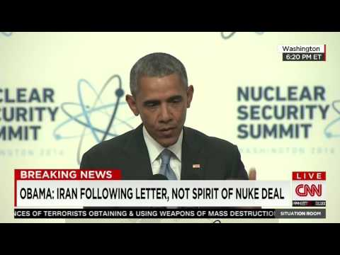 Obama: Iran Obeying Letter of Iran Deal, Not the Spirit